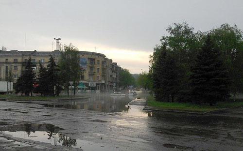 Потоп в Краматорске после ливня (фото) - фото 2