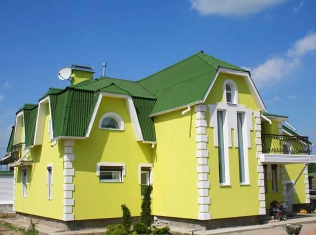 Фасадная краска Kolorit: популярные составы и их характеристики